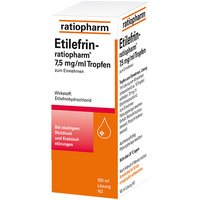 Etilefrin-ratiopharm Tropfen 7,5 mg/ml